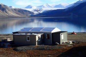 Leichtbauhallen Spitsbergen